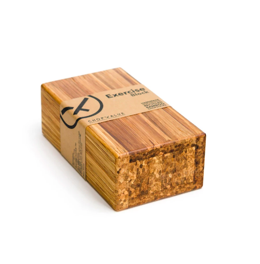 6:05AM – 750 Recycled Chopstick Yoga Block