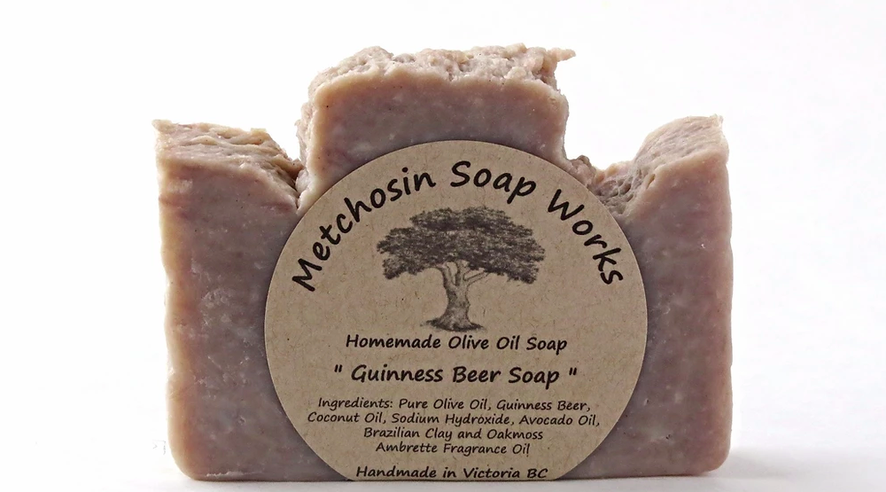 Guiness Beer Soap – All Natural + Zero Waste + No Hangover (3 Pack)