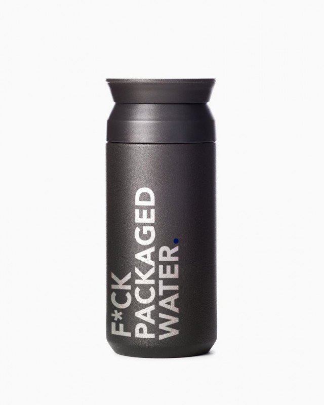 6:00AM – 'F*ck Packaged Water' Bottle