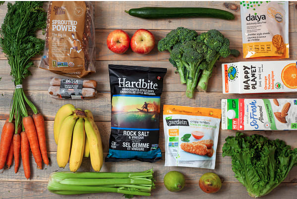 Instacart Vegan Shopping Cart (Walmart, Superstore)