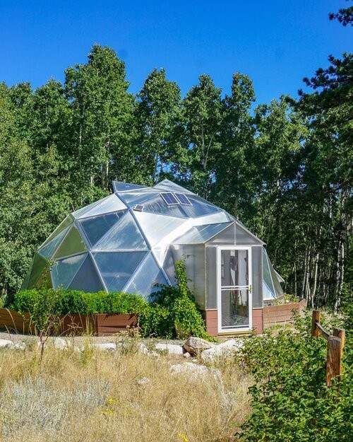 Home Igloo Style Greenhouse