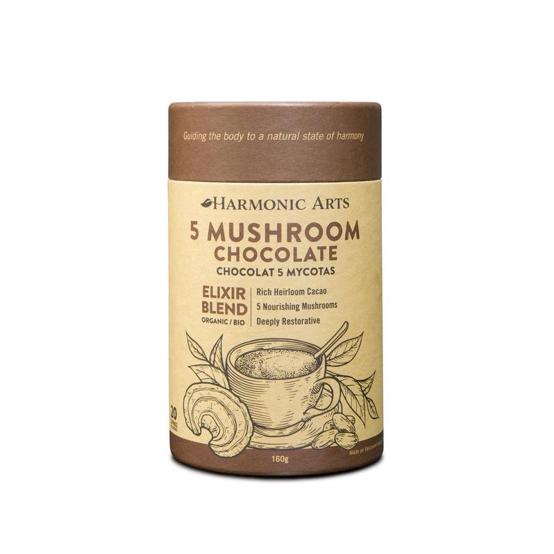 Medicinal Mushroom Elixir (Hot Water + Blender)