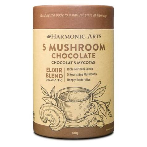 Medicinal Mushroom Elixir (Hot Water + Blender)