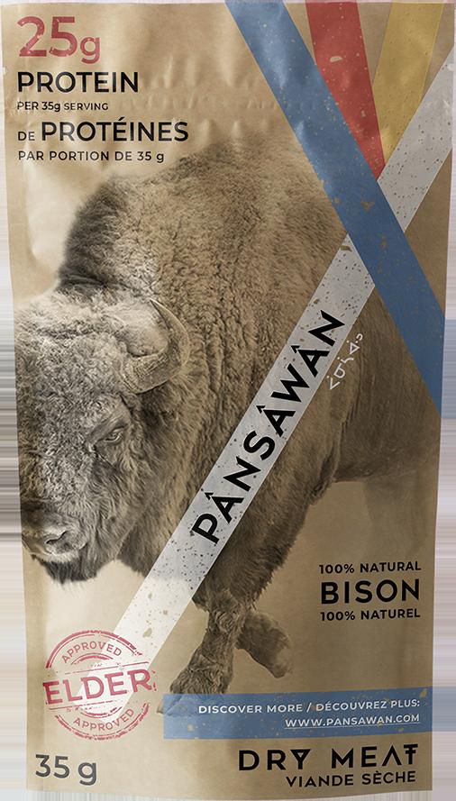 100% Natural Alberta Bison Jerky (10 Pack)