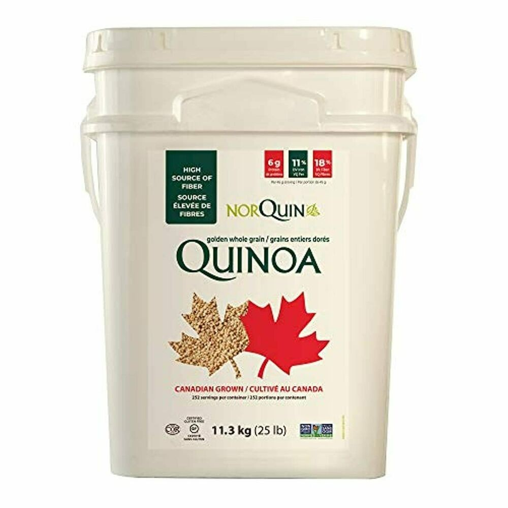 25LB Saskatchewan Quinoa (Tub to be used after for sporting equipment)