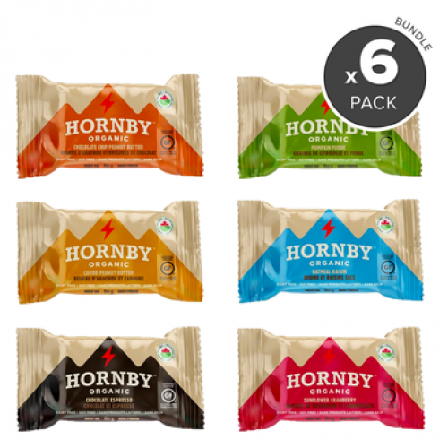 30 Pack Hornby Island (Off of Vancouver Island) Organic Certified Bars