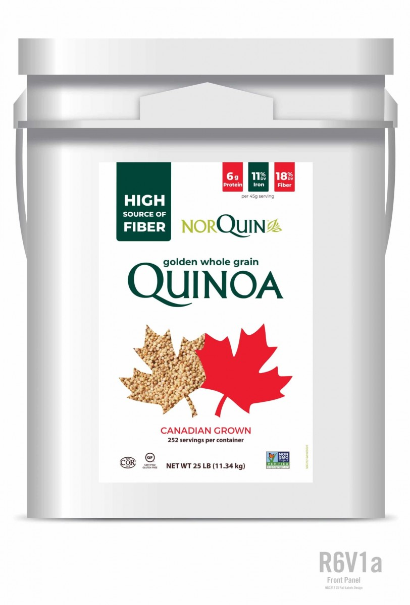 Canadian Quinoa – 25LB Tub