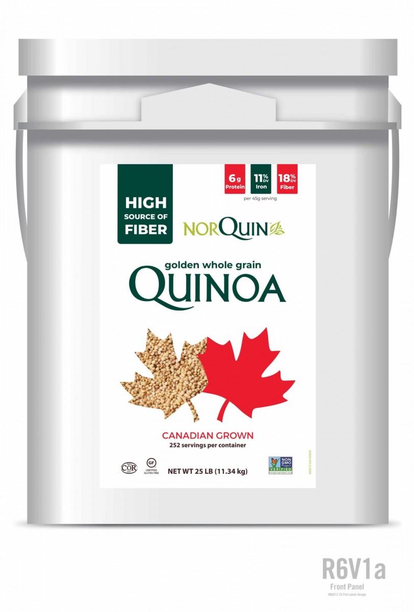 Canadian Quinoa – 25LB Tub