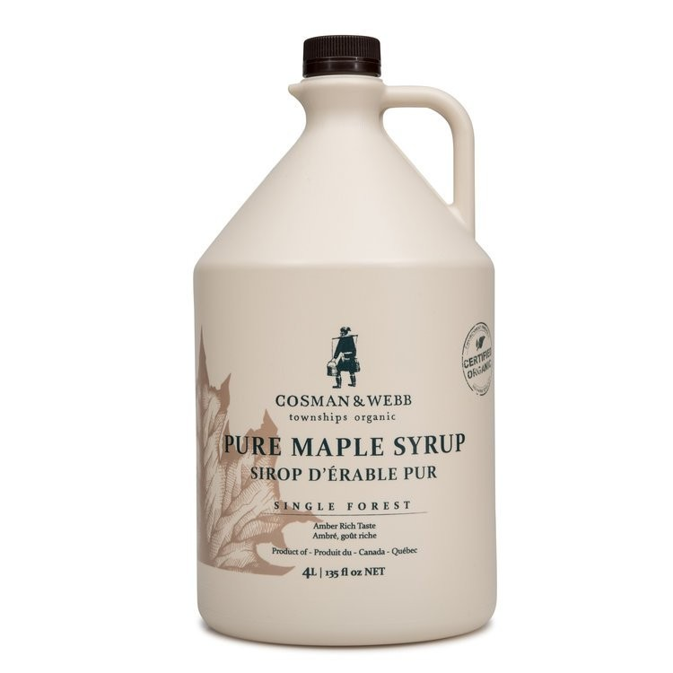 4L Quebec Organic Maple Syrup (let's see what Ontario has to say)
