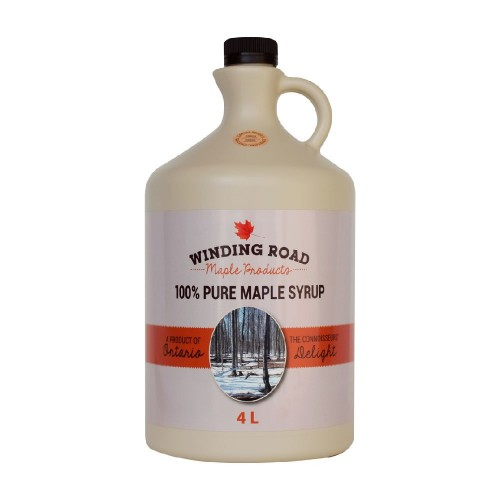 4L Ontario Organic Maple Syrup (let's see what Quebec has to say)