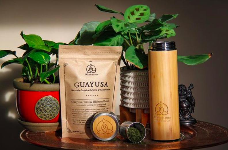 Guayusa Tea (Coffee Alternative) + Travel Mug