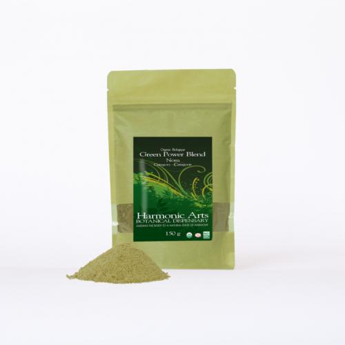 Greens Blend (Spirulina, Chlorella, Moringa)