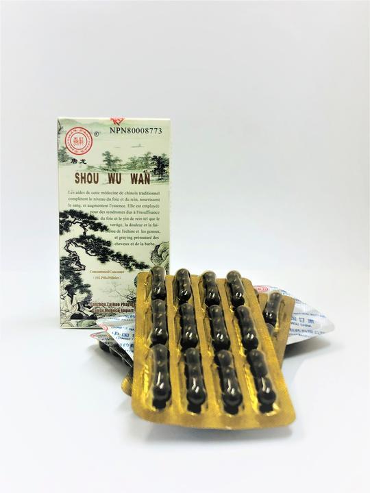 Shou Wu Wan (For Greying hair and Beard)